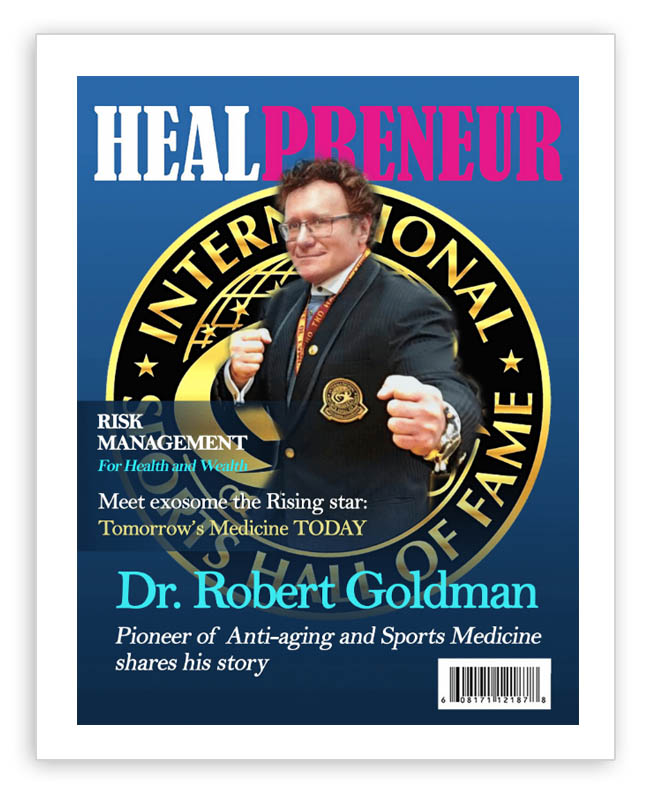HealPreneur Magazine Interview Dr. Robert Goldman Founder of A4M