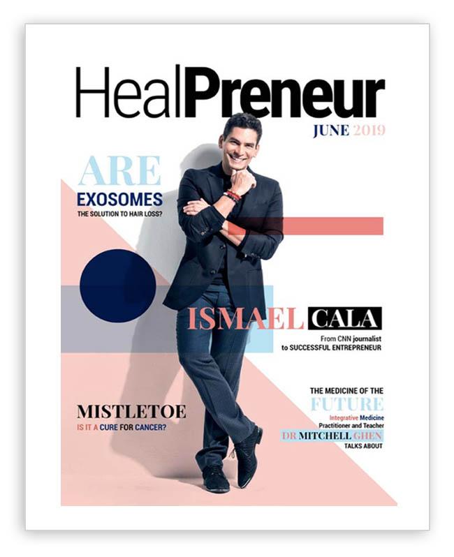 Healpreneur Magazine Ismael Cala