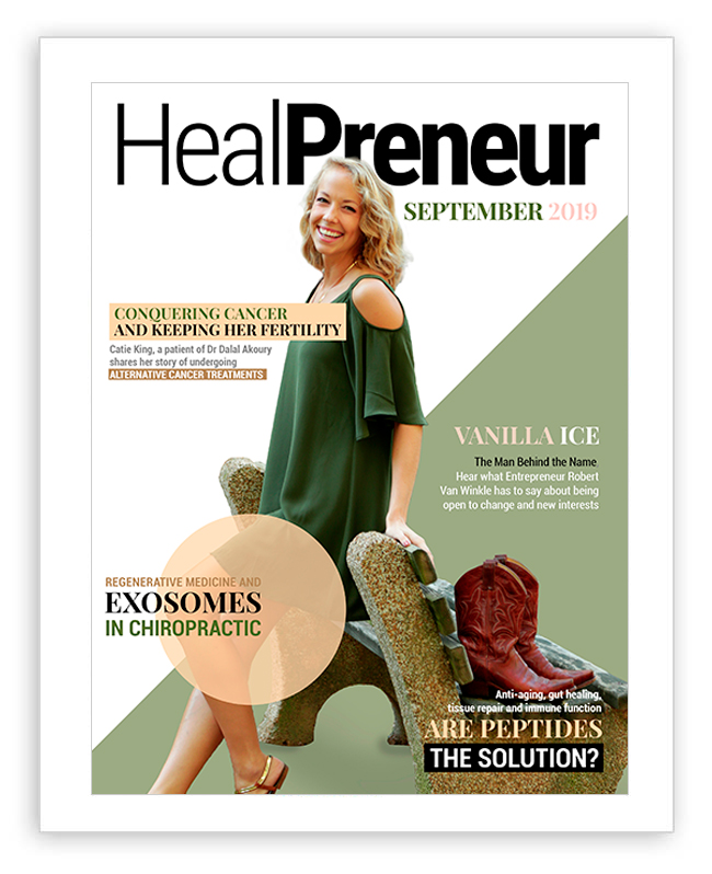 Cancer Naturally and Keeping her Fertility in The September 2019 Issue of HealPreneur