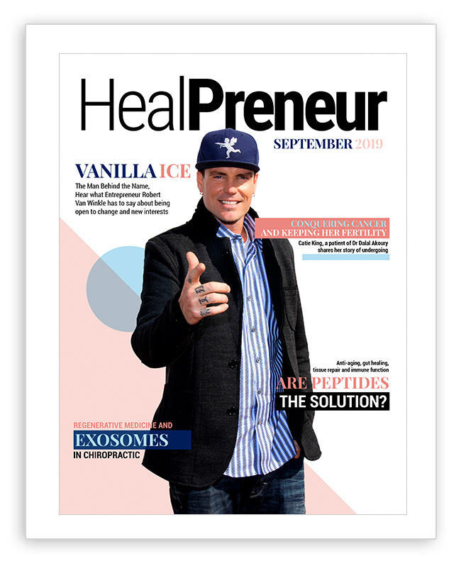 HealPreneur Presents Peptides for aging in The September 2019 Issue of HealPreneur
