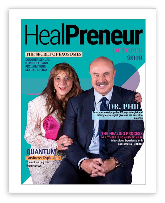 Healpreneur, Magazine, Octuber, DrPhil