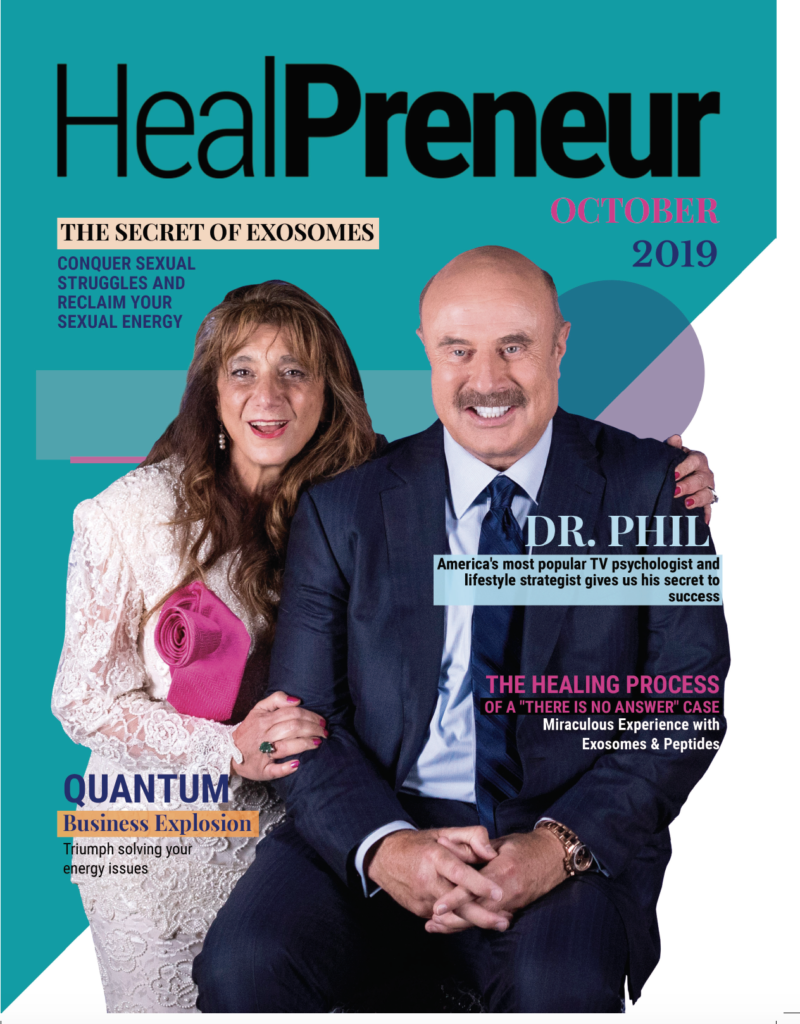HealPreneur Presents Dr. Phil America's most popular and lifestyle strategist TV PSYCHOLOGIST