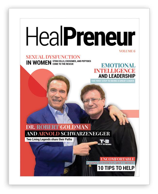 HealPreneur Magazine Volume6 with Arnold Schwarzenegger